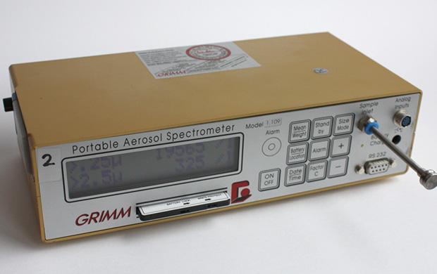 Feinstaubmessgerät von der Firma Grimm Aerosole